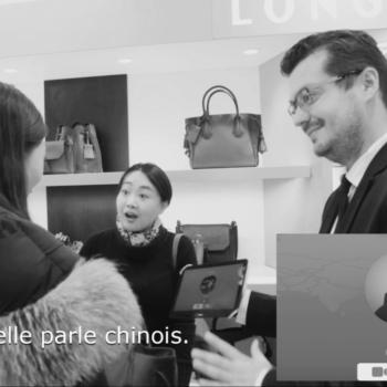 Longchamp adopte OUispeak