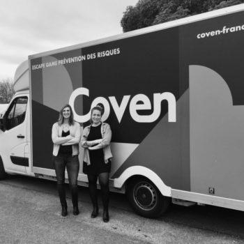 Julie Cutillas et Claire Malanot, co-fondatrices de Coven
